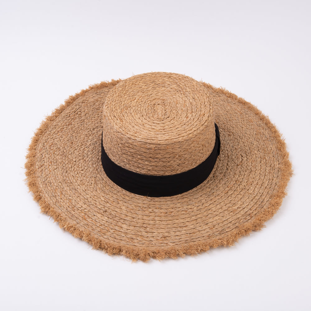 Load image into Gallery viewer, Hat- Castaway Straw