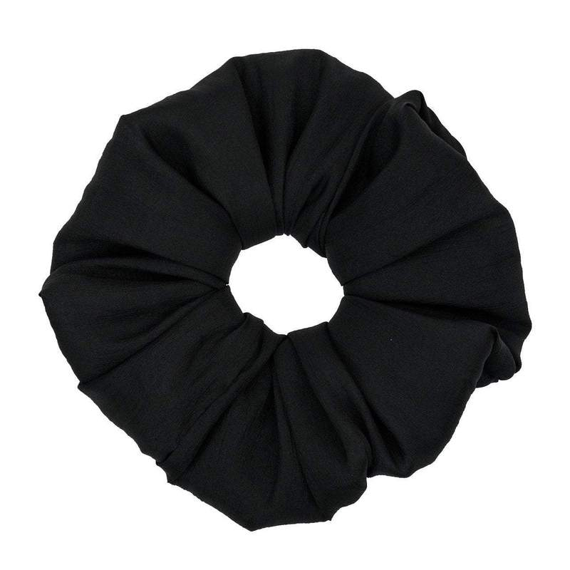Load image into Gallery viewer, DINNER SCRUNCHIE - BLACK