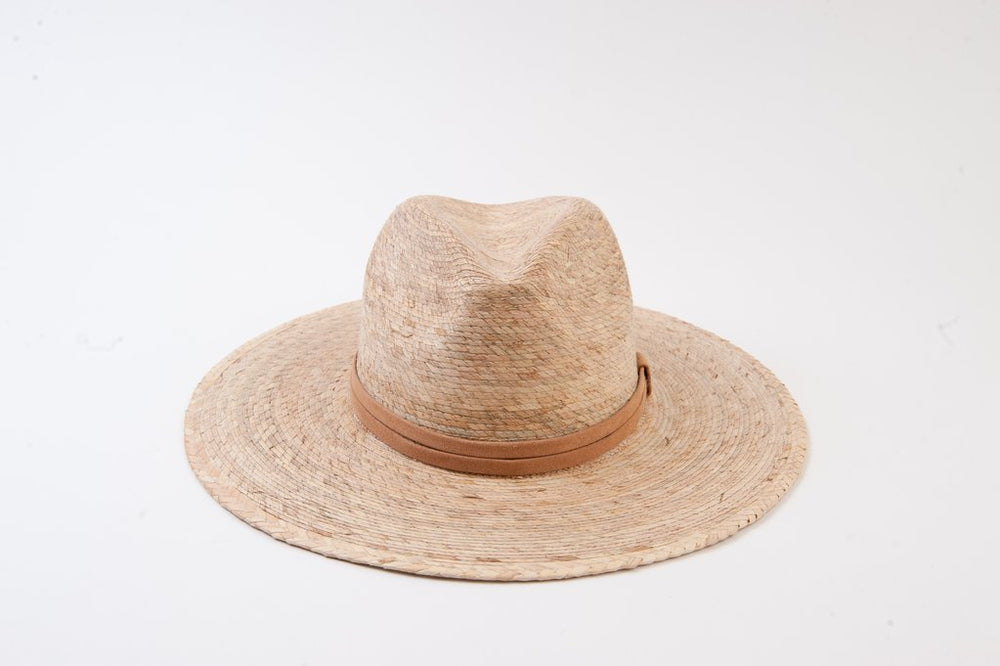 Fedora hat with trim