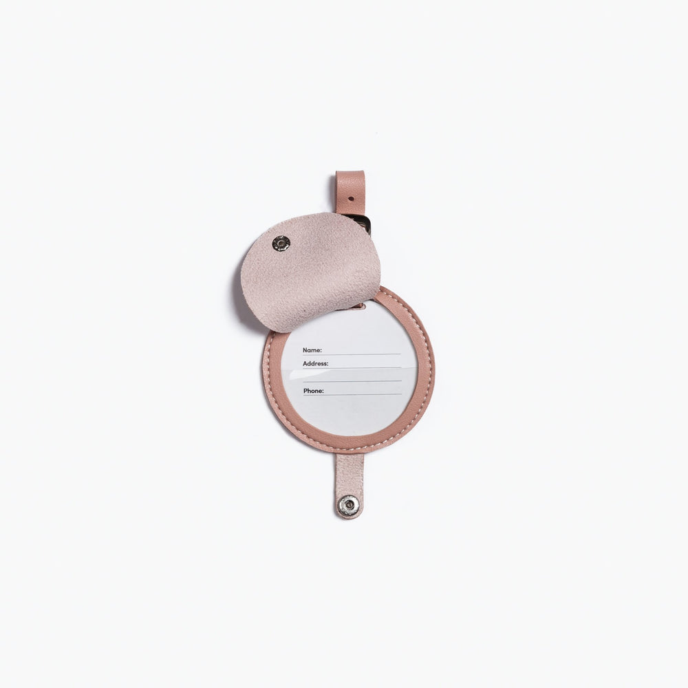 Minimalist Luggage Tag in Blush