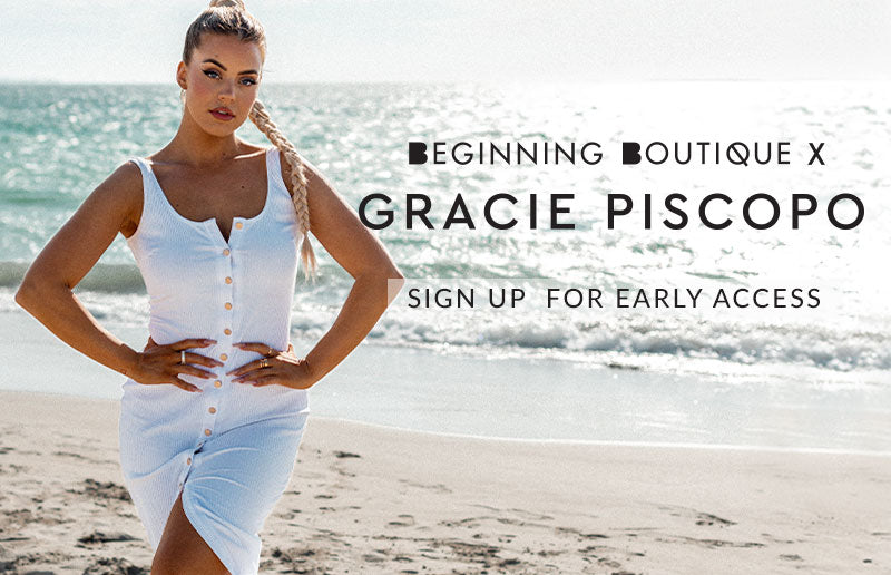 Beginning Boutique x Gracie Piscopo