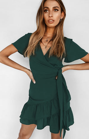 Sweet Tea Dress Green