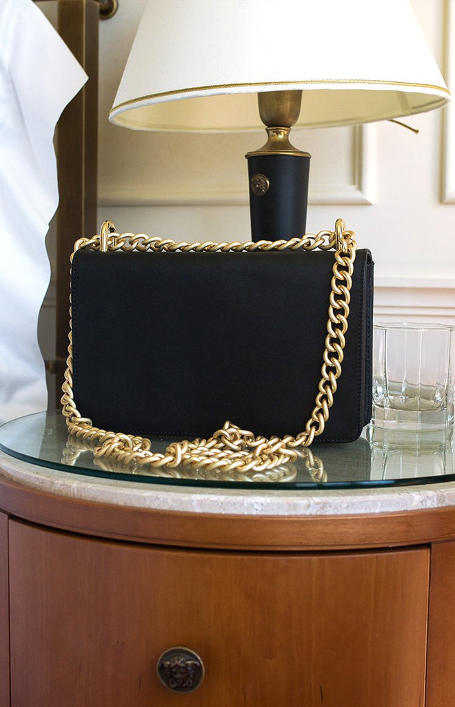 NakedVice The Chain Bag Matte Gold