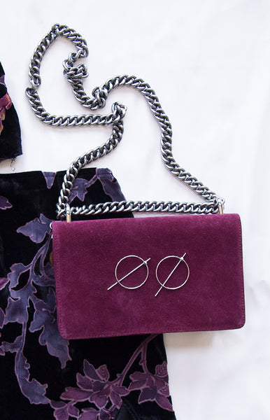 NakedVice The Chain Bag Burgundy