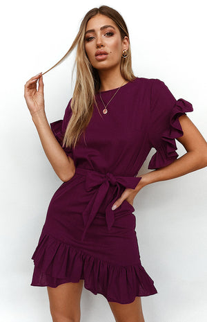 Heavenly Dress Plum