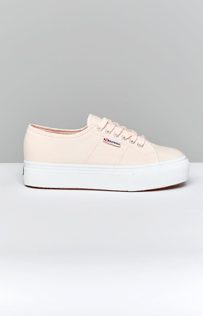 Superga 2790 LINEA Up Down Canvas Sneaker Pink 5