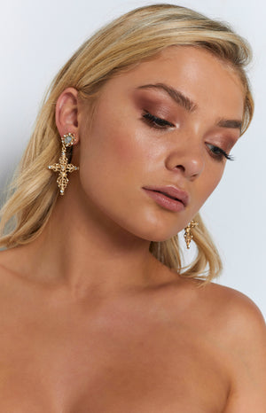 8 Other Reasons Purity Earrings Gold