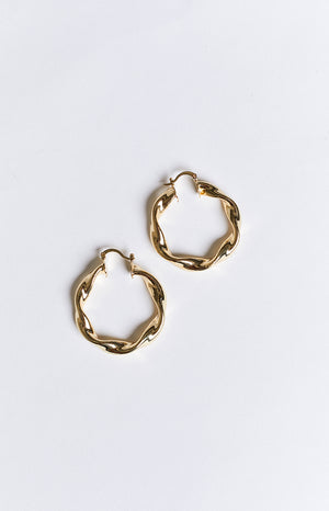 8 Other Reasons Twist Hoop Earrings Gold