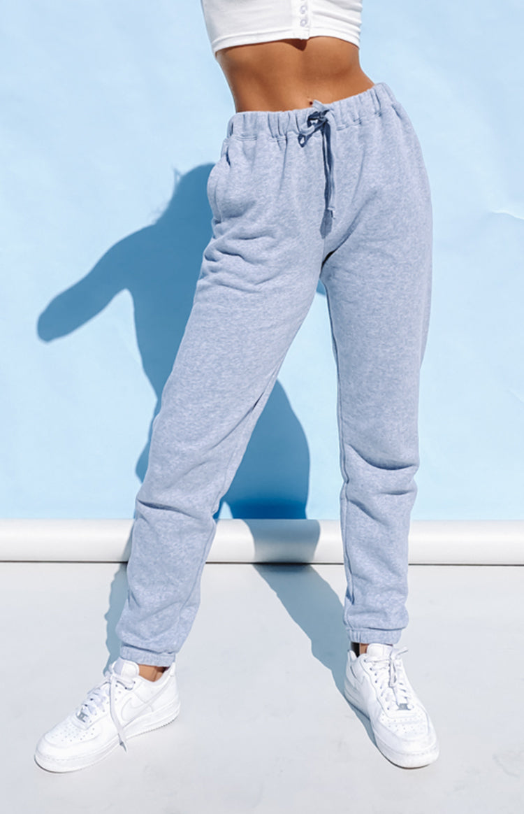 AS Colour Womens Surplus Track Pant Grey Marle
