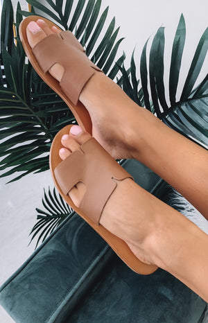 Just Because Agonda Sandal Tan