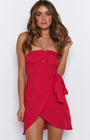 Andre Dress Red