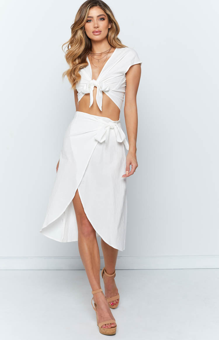 Avila Two Piece Set White