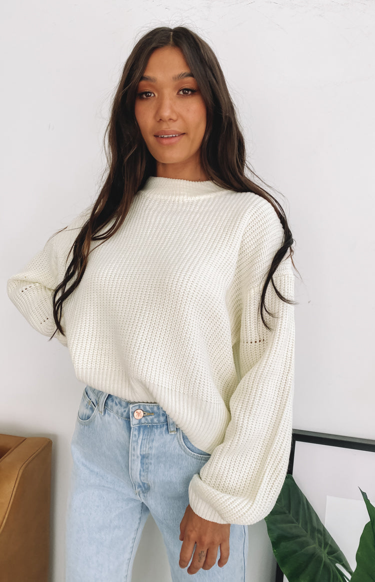 Bellflower Jumper White