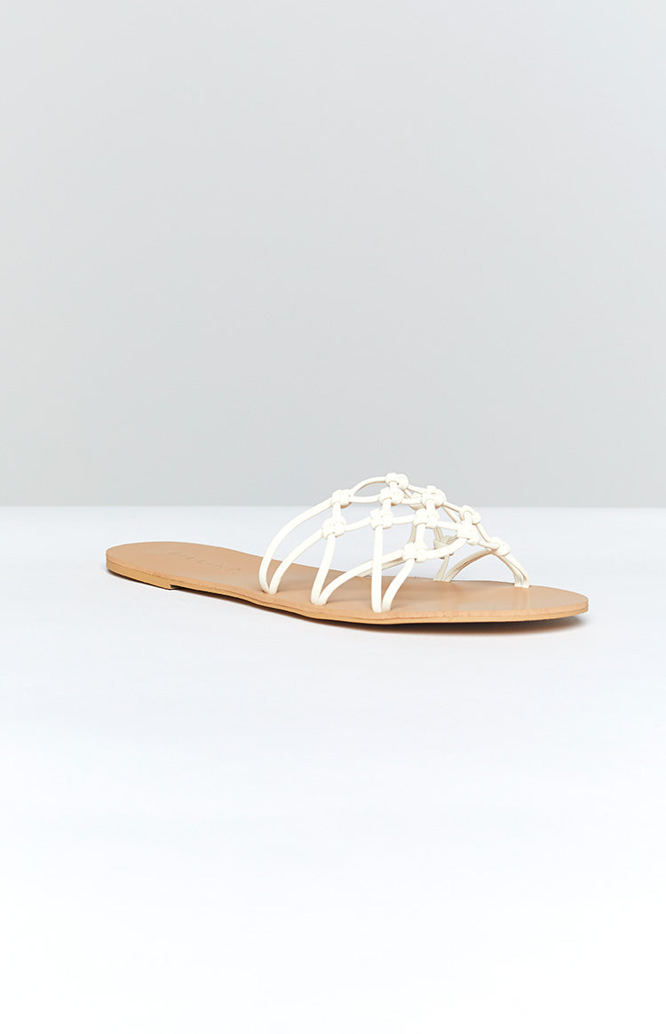 Billini Cayenne Sandals Off White Nubuck