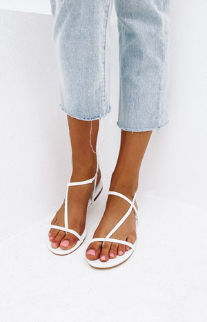 Billini Indigo Sandals White
