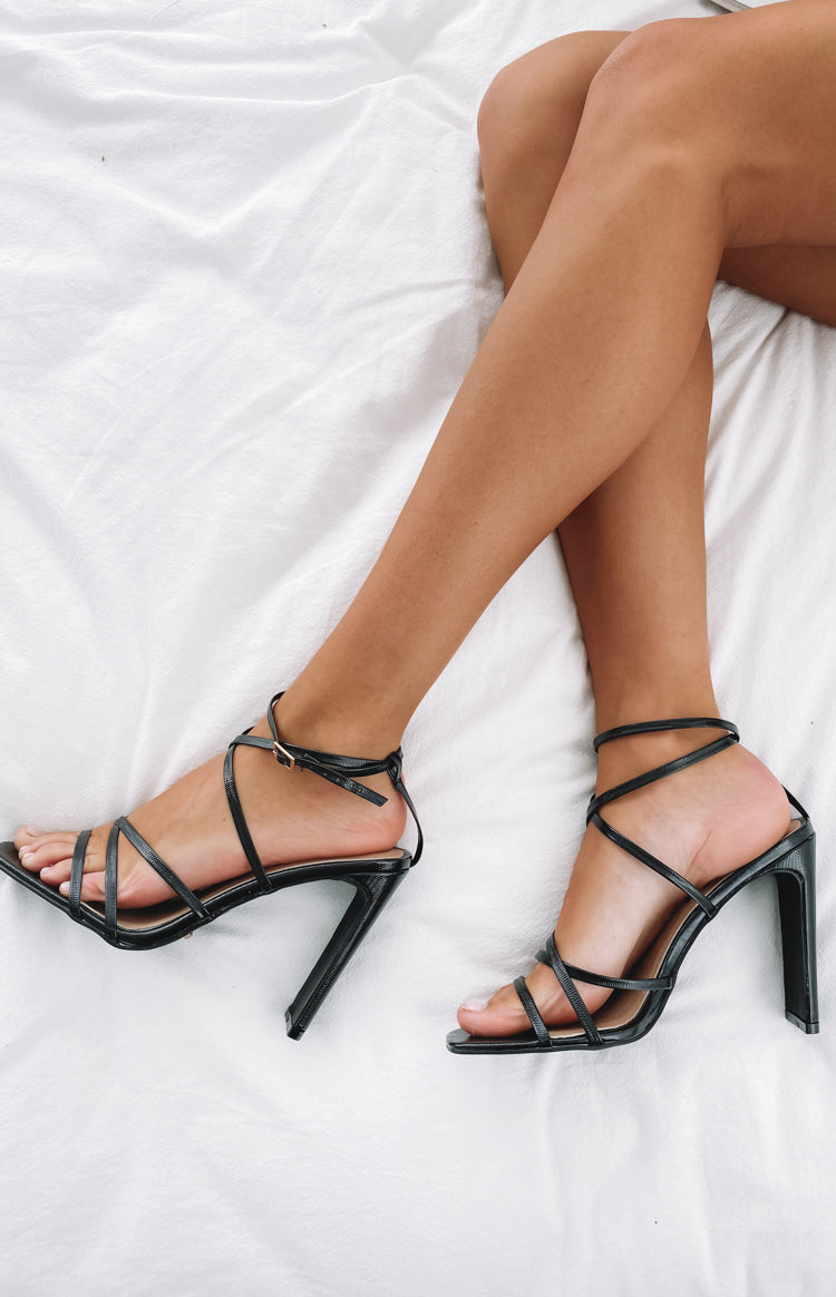 Billini Demi Heels Black