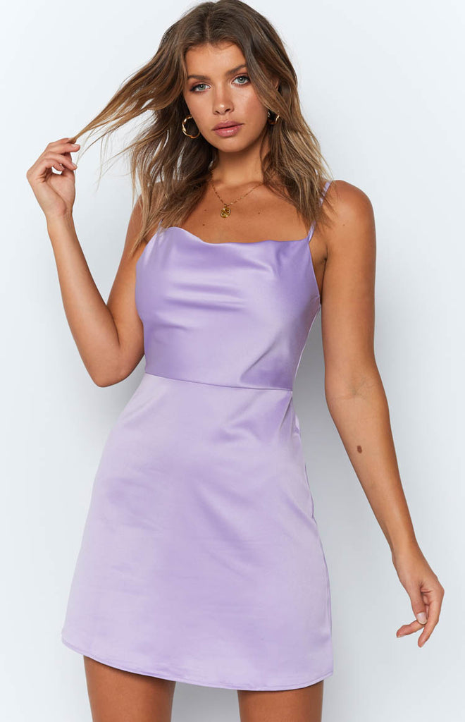 Caspen Dress Lilac
