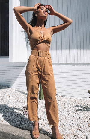 Champagne Brunch Two Piece Set Rust