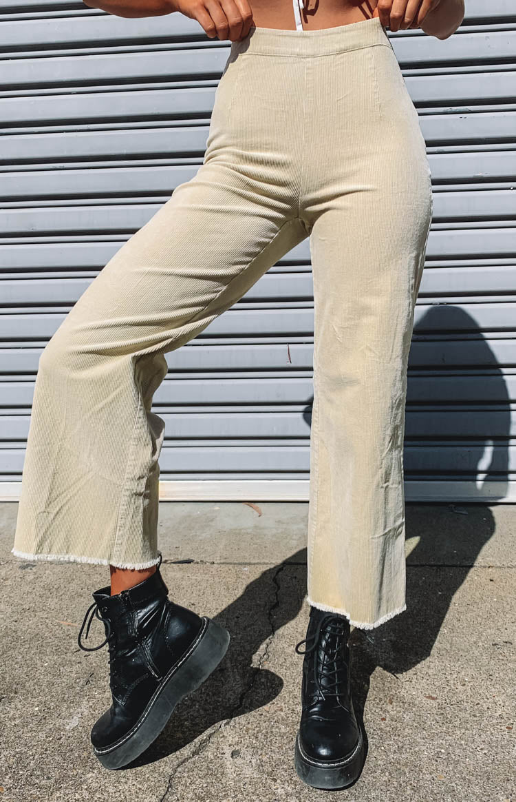 Churchtown Pants Beige Cord