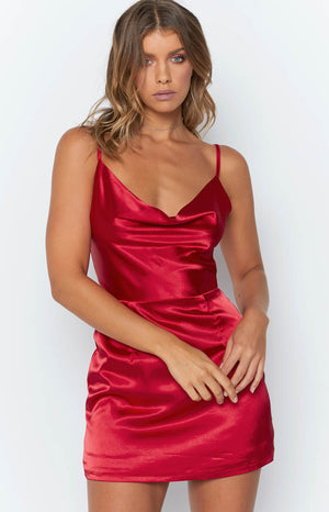 Dakota Dress Red