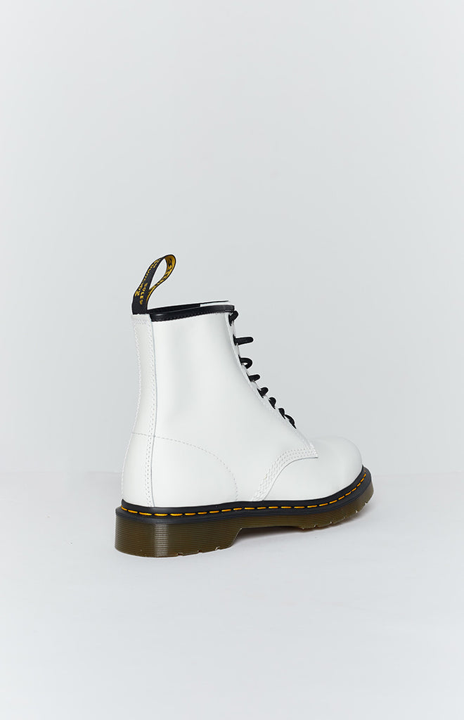 Dr. Martens 1460 8EYE Boot White Smooth 1