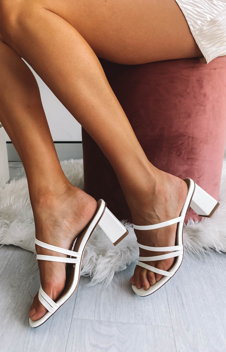 Easton Crew Heels White