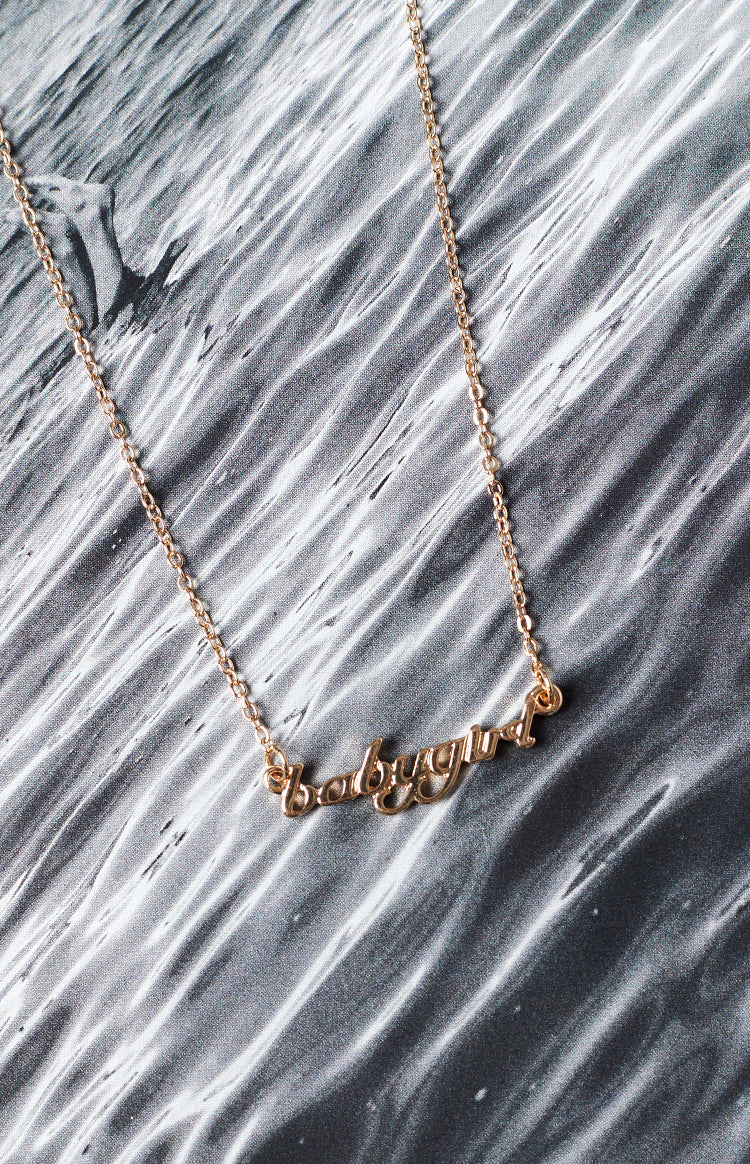 Eclat Babygirl Necklace Gold