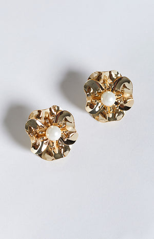 Eclat Daisy Dream Earrings Gold