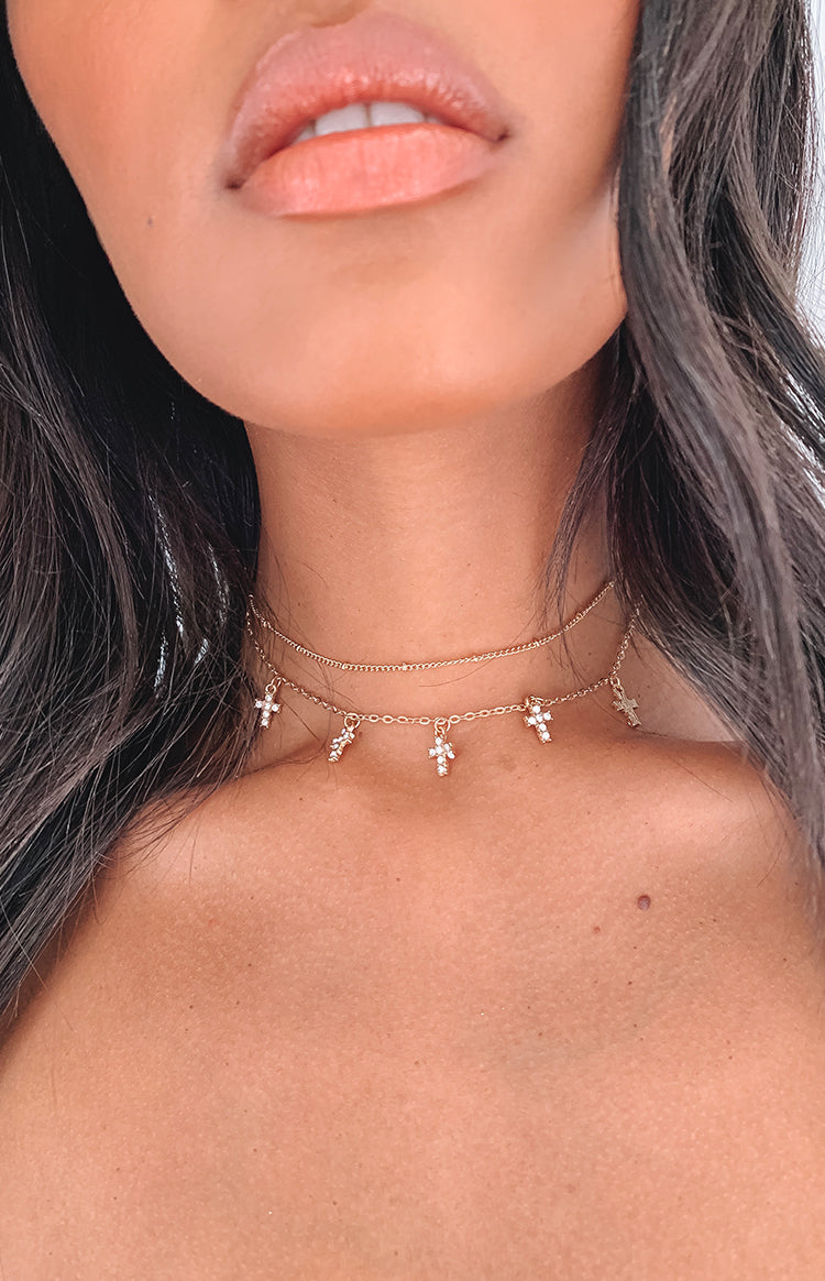 Eclat Forgiven Choker Necklace Gold