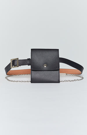 Eclat Night Rider Belt Bag Black