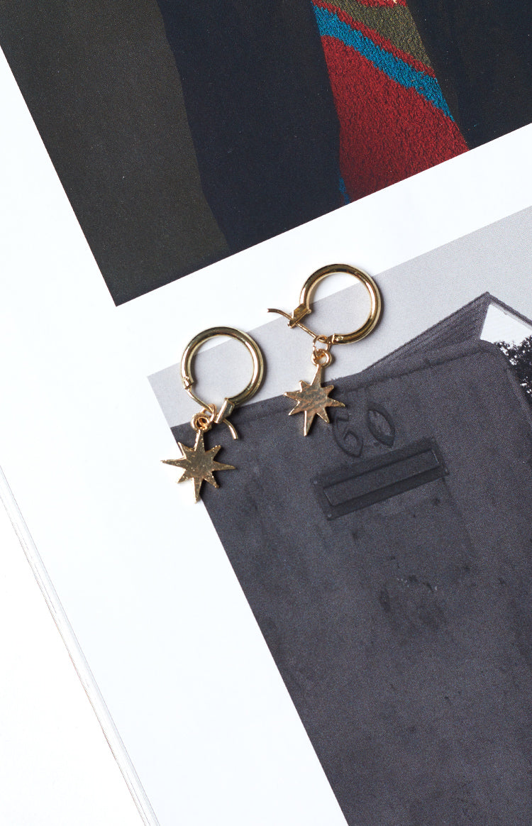 Eclat Rigel Earrings Gold