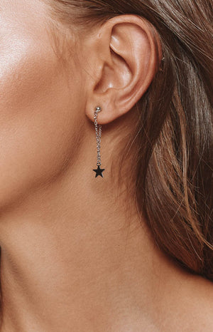 Eclat Stellar Earrings Silver
