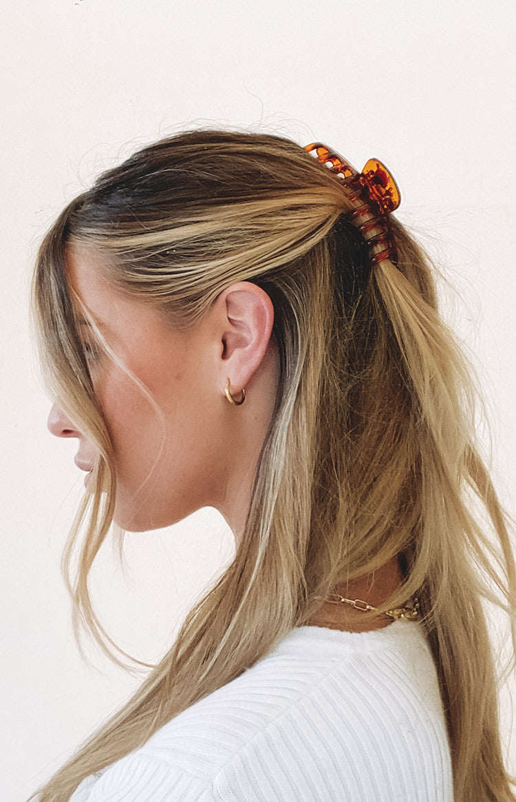 Eclat No Doubt Claw Hair Clip Tortoiseshell