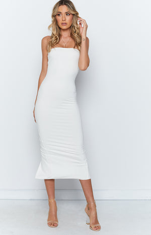 Emilie Dress White