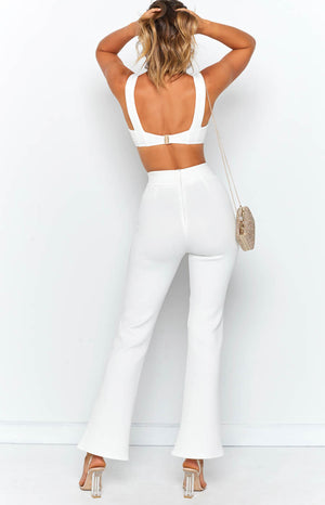 Eve Crop White