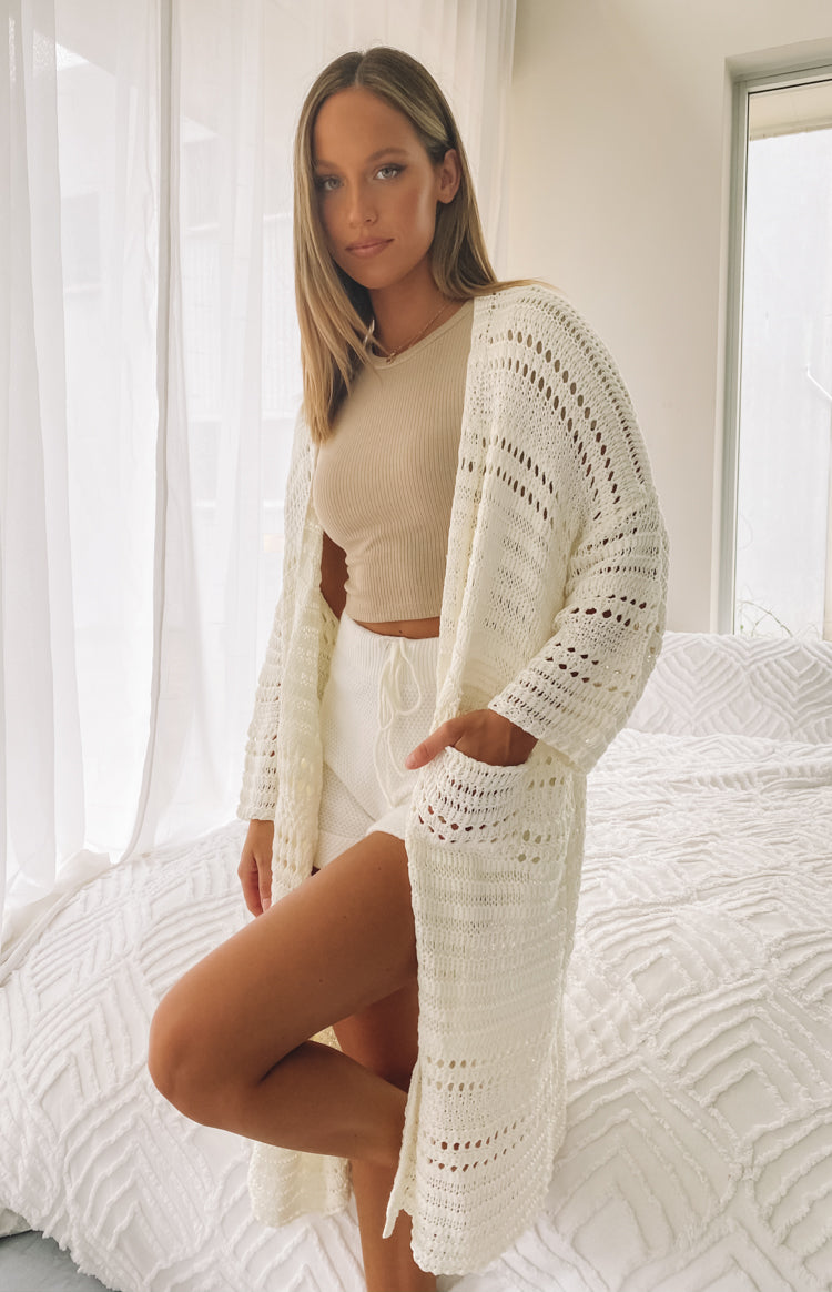 Feel So Close Cardigan Cream