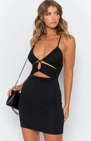 Haydee Dress Black