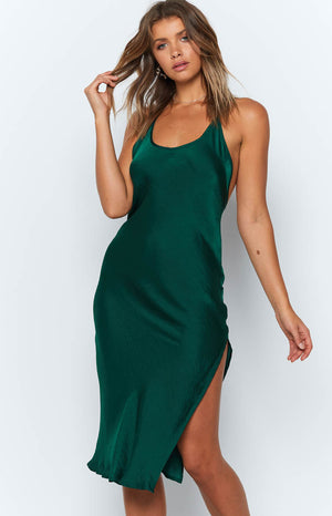 Heather Dress Emerald