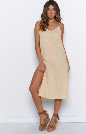 Helene Dress Beige
