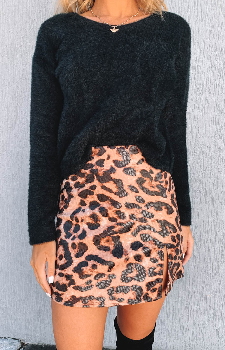 Laura Skirt Leopard