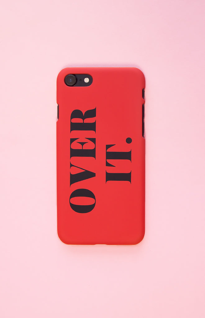 Michael x Shani Over It iPhone 7Case Red
