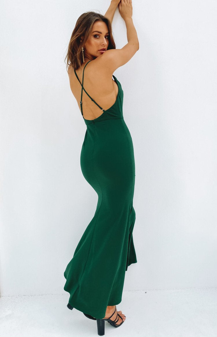 Karen Formal Dress Green