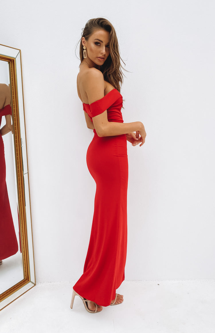 Lizzy Formal Dress Red