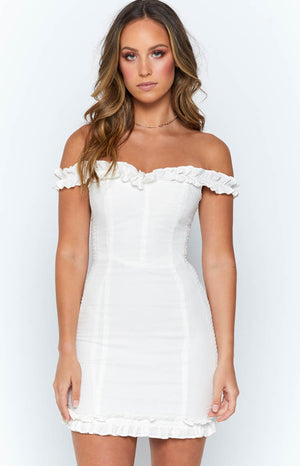 Live To Tell Dress White