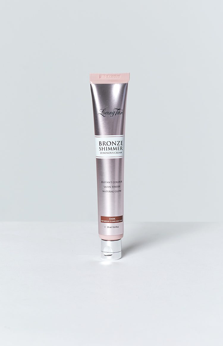 Loving Tan Sample Bronze Shimmer Luminous Cream Dark