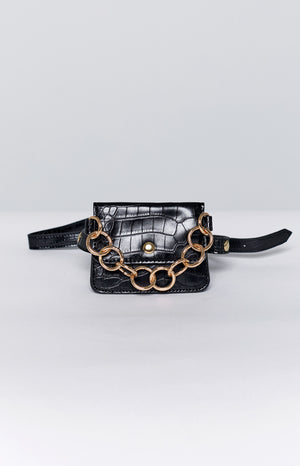 Eclat Mamba Mini Belt Bag Black