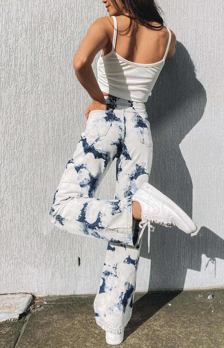 Origami Jeans Bleached Denim