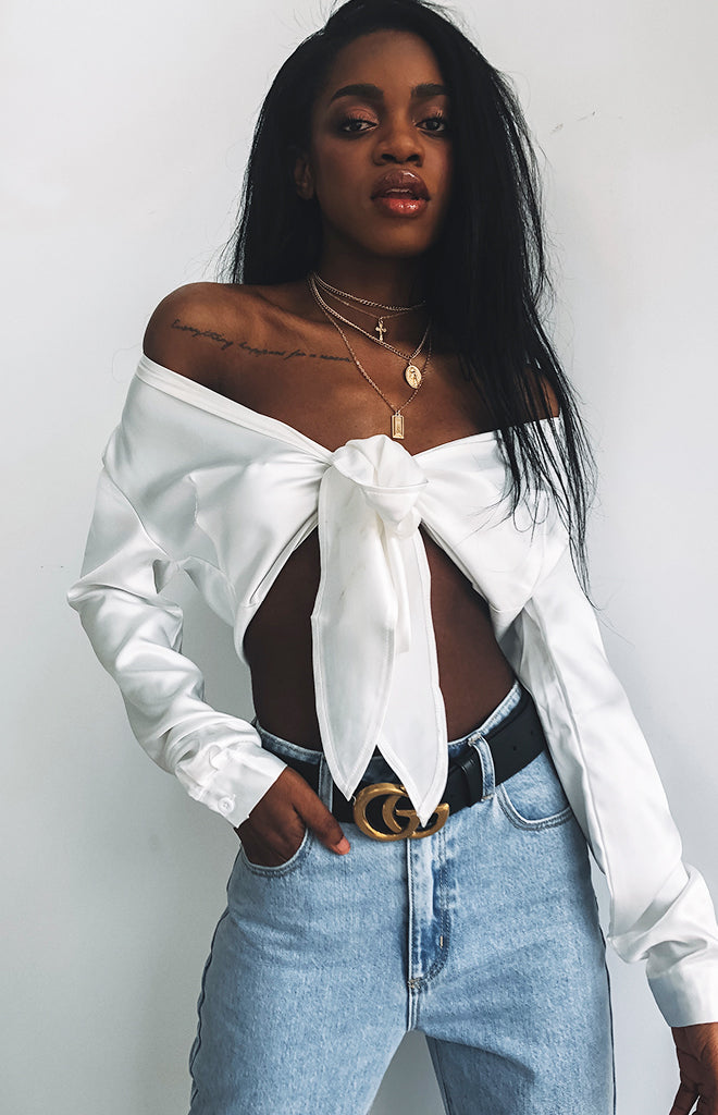 Ritzy Top White