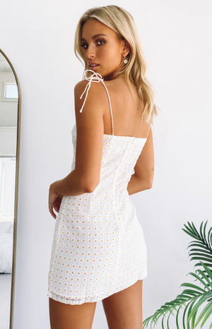 SOS Daisy Print Dress