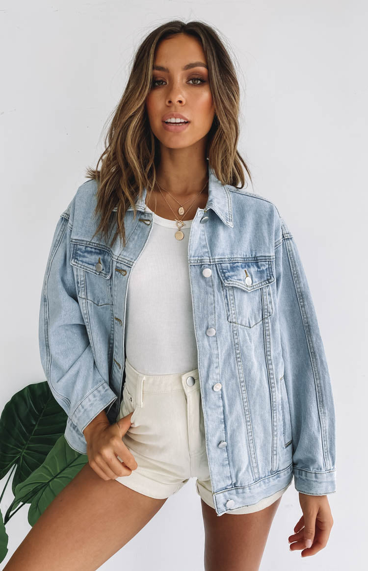 San Diego Denim Jacket Blue
